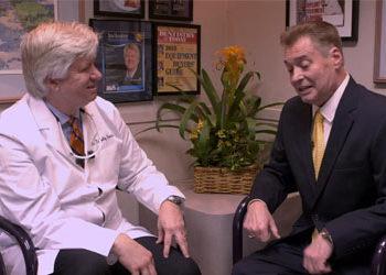 dr kosinski with patient interview