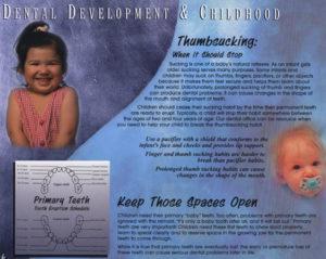 Childhood Dental Denvelopment